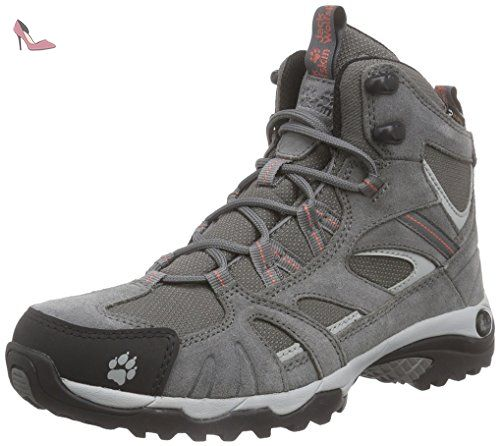 PASSION TRAIL LOW M, Chaussures de fitness outdoor homme - Gris - Grau (burly yellow 3800), Taille 43 EUJack Wolfskin