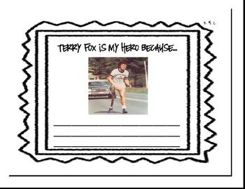 """terry fox essay """"i'm gonna do my very best - terry fox - my hero introduction i'll fight i promise i won't give up """" terry said this after he had to give up in thunder."""