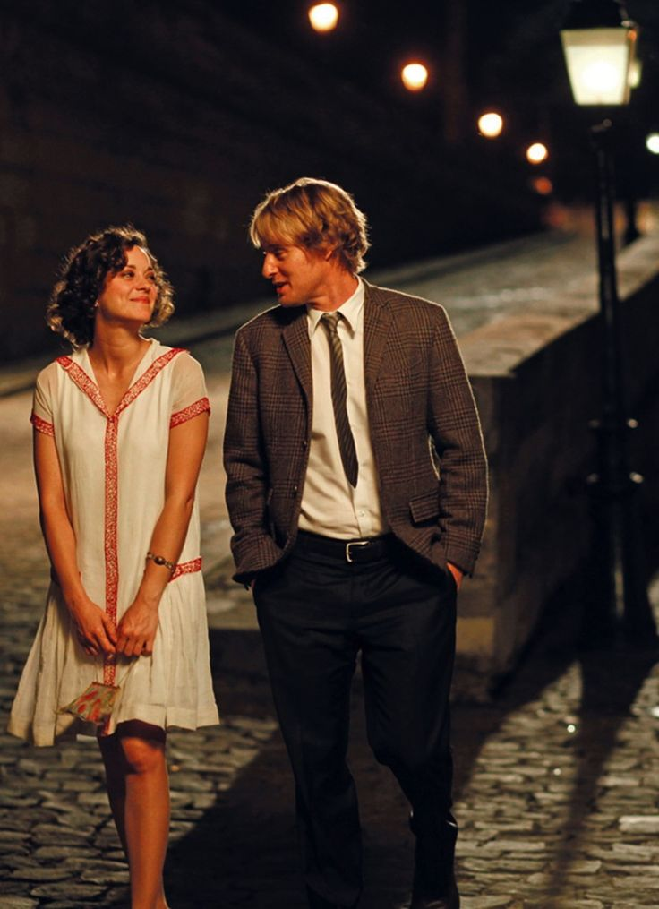Midnight in Paris with Marion Cotillard & Owen Wilson, sublime!