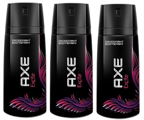 ¡Chollo! Pack de 3 unidades Axe Excite Desodorante 150ml por 3,60 euros.
