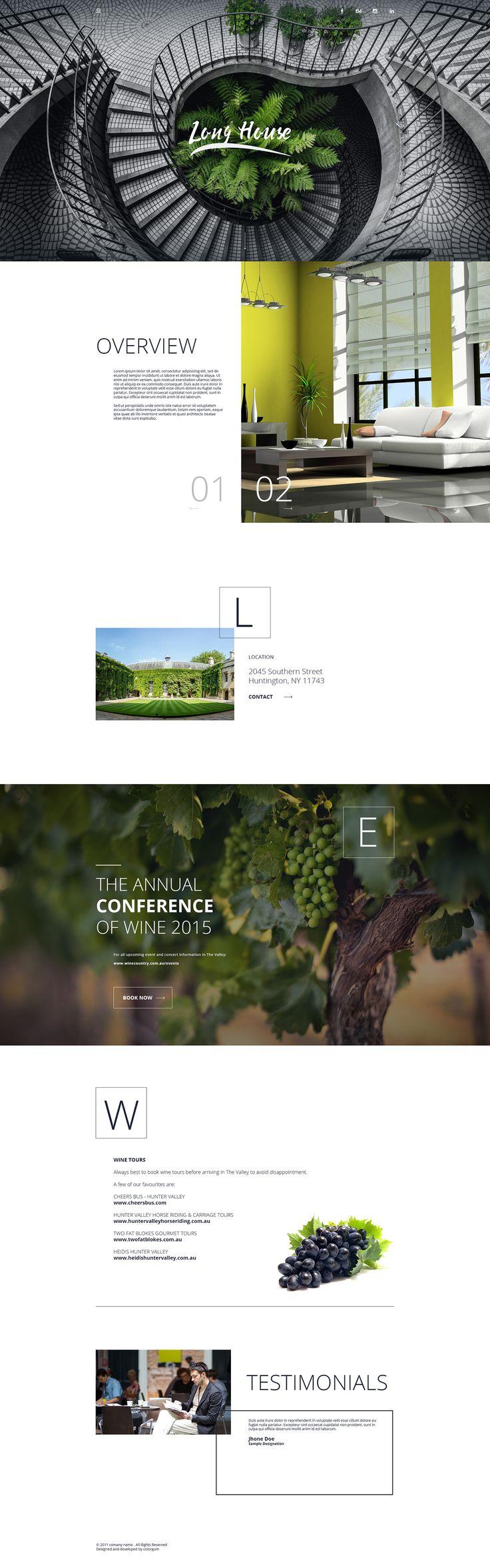 Free Home Page Design on Behance by Afanur Rashid Dhaka, Bangladesh