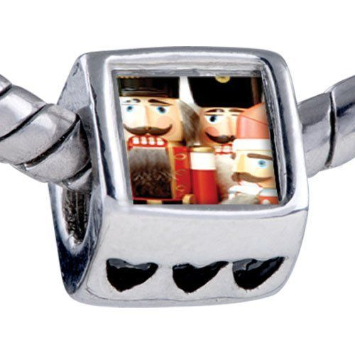 Pugster Bead Christmas Nutcrackers Beads Fits Pandora Bracelet Pugster. $12.49. Bead Size (mm): 7.25mm*8.02mm*8.94mm. Metal: base metal. Note: Snake chain is not included. Weight (gram): 2.75