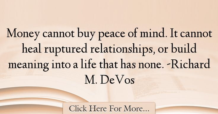 Richard M. DeVos Quotes About Money - 47387