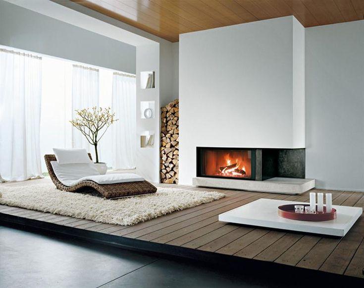 Grifocaminetti. Caminetti moderni in marmo, acciaio cartongesso per essere protagonisti del vostro soggiorno
