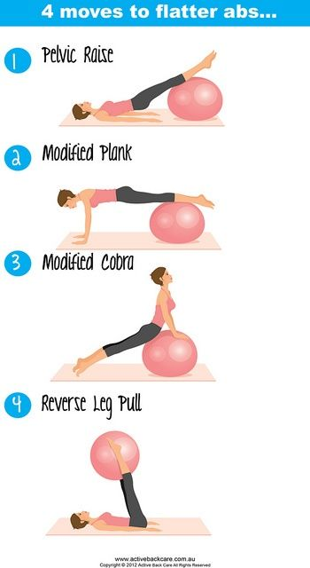 4 moves for flatter, stronger abs