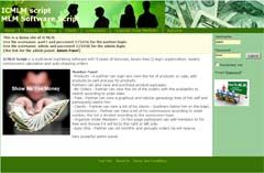 MLM script , MLM software , Multilevel marketing program