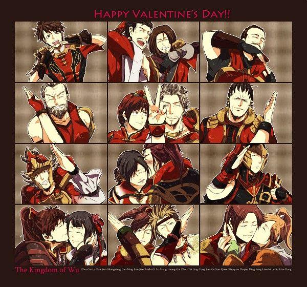Tags: Dynasty Warriors, Sun Shang Xiang, Xiao Qiao, Helmet, Da Qiao, V Gesture
