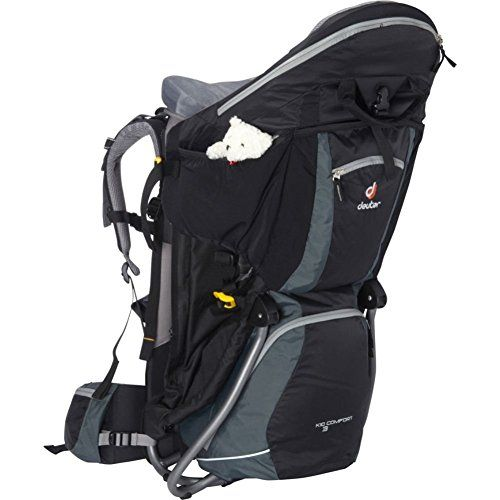 Deuter Kid Comfort III Child Carrier  BlackGranite -- Want additional info? Click on the image.