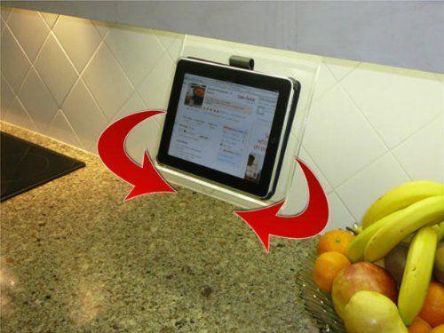 8 Best Images About Ipad Under The Counter Mounts On Pinterest Tablet Holder Cookbook Holder