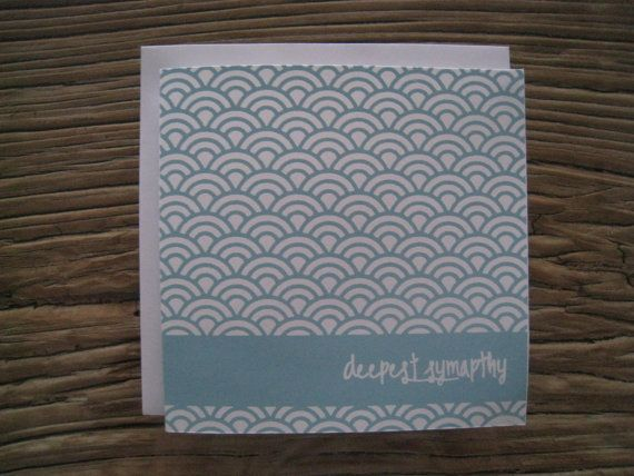 Deepest Sympathy  Light Blue Screenprint by LifeStyledByNManks, $5.00