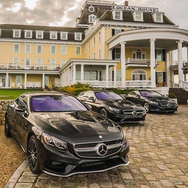 DRIVING BENZES — Mercedes-Benz S 550 coupé (Instagram @mbusa)