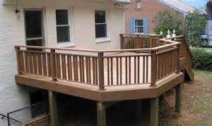 How to : How To Build Deck Railing Deck Rail Planters' How ...