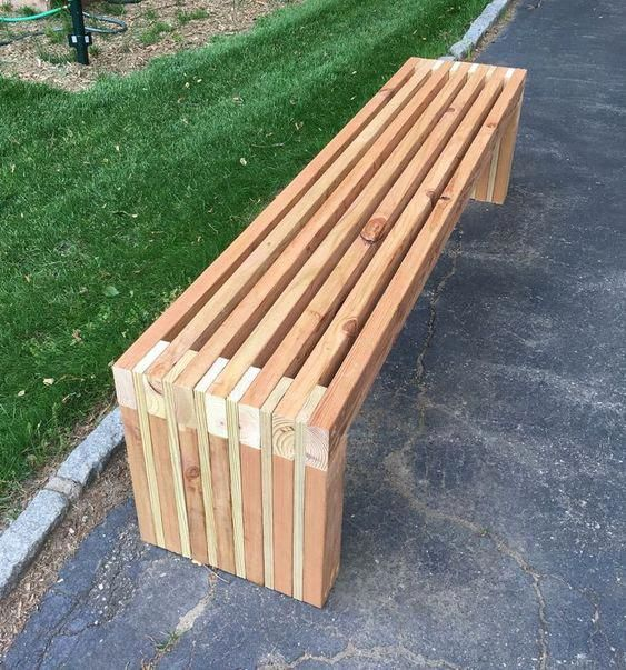 Sturdy 2x4 Bench Buildsomething Com Diy Bench Outdoor 2x4
