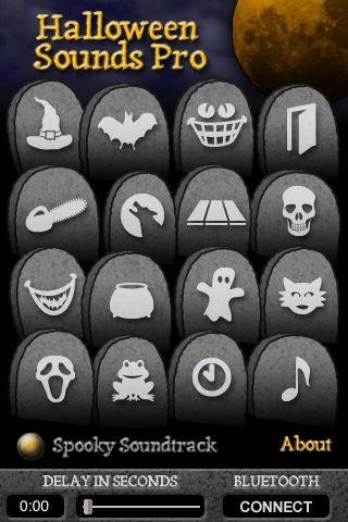 Halloween Sounds App!