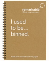 a remade note pad