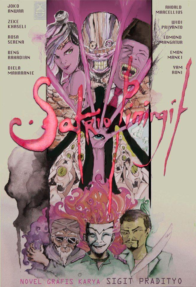 cover sampul novel grafis Satrio Piningit