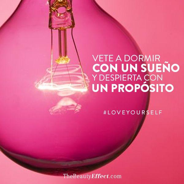 Los grandes éxitos empezaron con un sueño #LoveYourself #BeautyInspiration