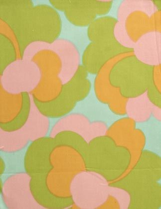 vintage Finnish fabric designed by Raili Konttinen, 1964-66