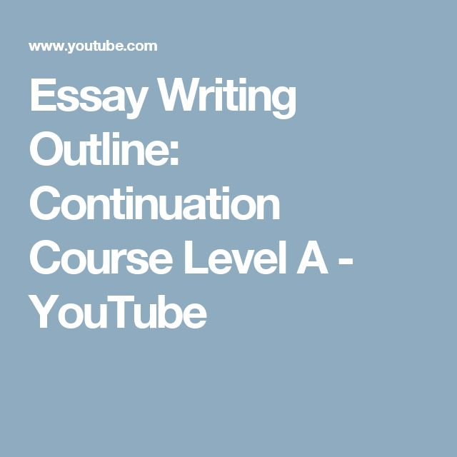 creative writing course outline