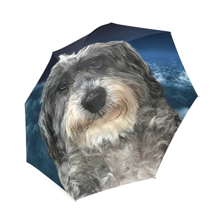 Dog Poodle Cross Foldable Umbrella. FREE Shipping.  #erikakaisersot #artsadd #umbrellas #dogs