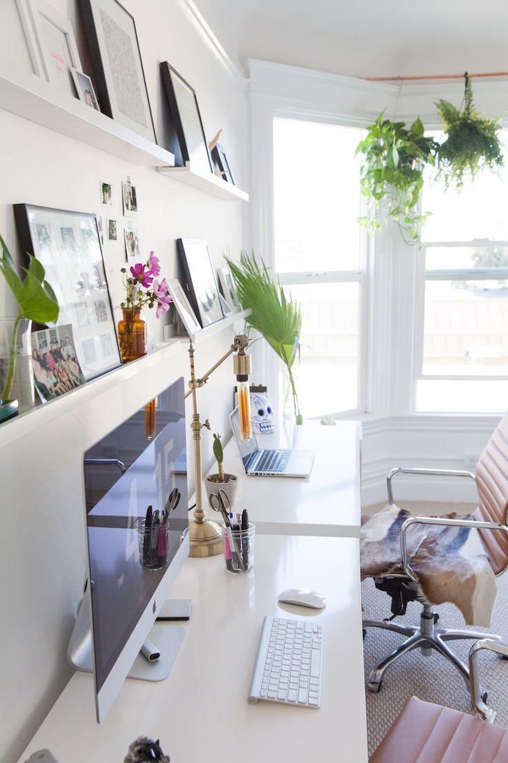 Jen Kays San Francisco Home Tour Office DesksHome