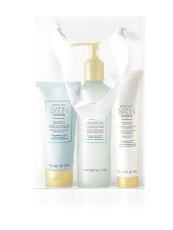 Fragrance-Free Satin Hands® Pampering Set | Mary Kay