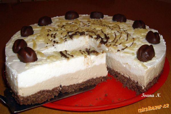 nepečený dortík Latté Mocchito