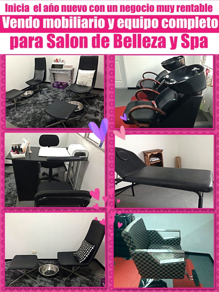 17 best images about mobiliario y decoracion salon on for Sillas para pedicure