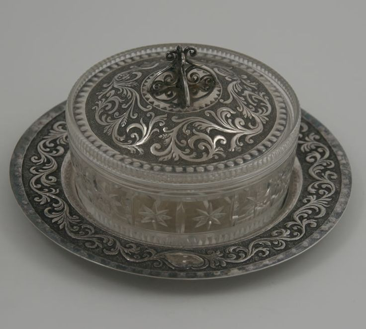 victorian butter dish | The object of the day: Victorian silver butter dish