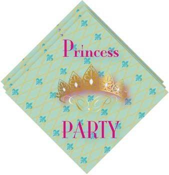 Prinsessen servetjes koop je op Kinderfeest.nu!