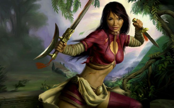 Fantasy Pictures Of Female Warriors