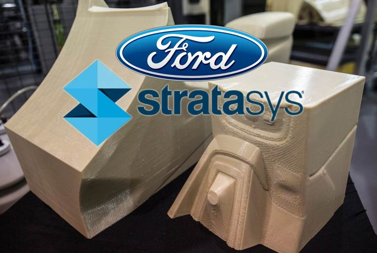 FORD Tests Large-Scale 3D Printing from STRATASYS for Car spares