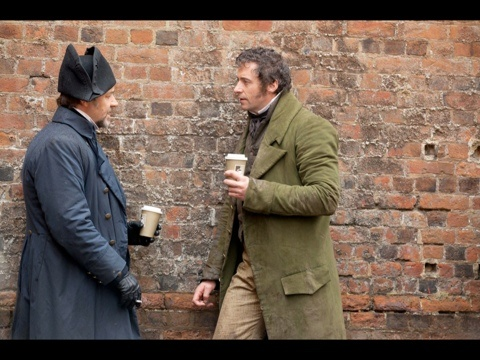 Oh, you know...just the protagonist and the antagonist catching up over a cup of coffee. Gotta love those two ;)