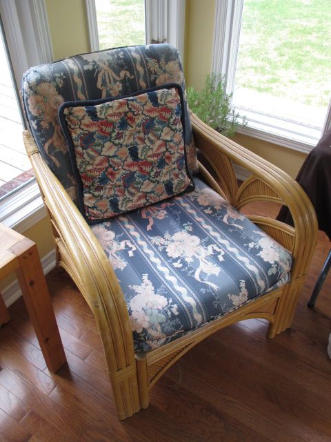 RATTAN ARCH CHAIR Content sale from pleasant Kanata South home – 27 Brandy Creek Crescent, Ottawa ON. Sale will take place Saturday, May 9th 2015, from 9am to 2pm. Visit www.sellmystuffcanada.com to view photos of all available items!