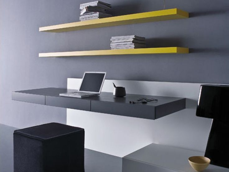 Pianca Ultra Modern Office Desks Layout Floating And
