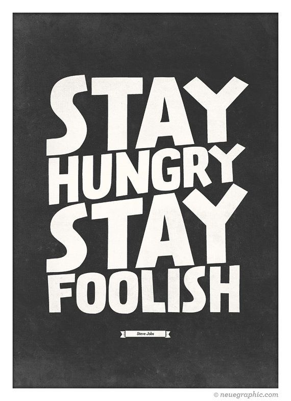 Stay Hungry Stay Foolish rebeccaminkoff.com