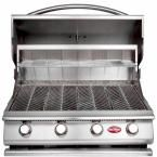 Cal Flame 4-Burner Built-in Propane Gas Grill in Stainless Steel with Accessory Kit-BBQ13P04 - The Home Depot