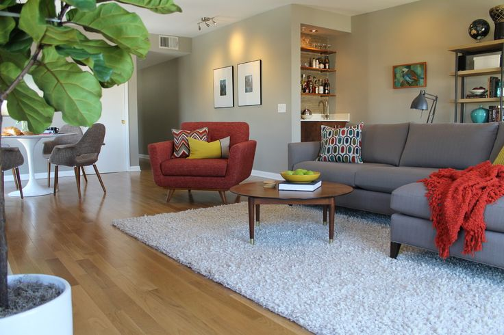 Pretty apartment sofa convention los angeles midcentury for Living room 6 portland