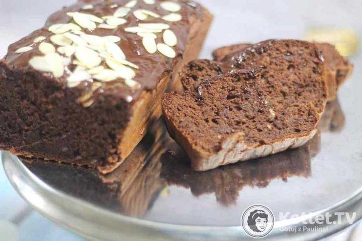 czekoladowe ciasto z czerwonej fasoli bez mąki