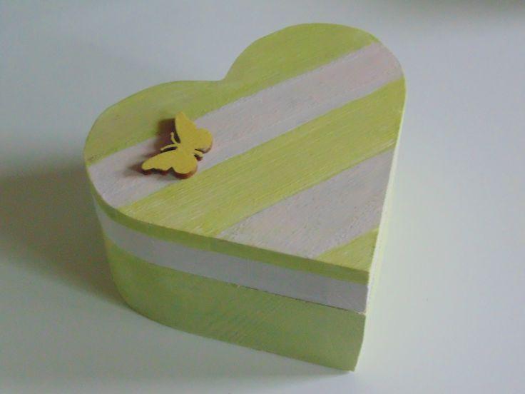 Heart box - butterfly