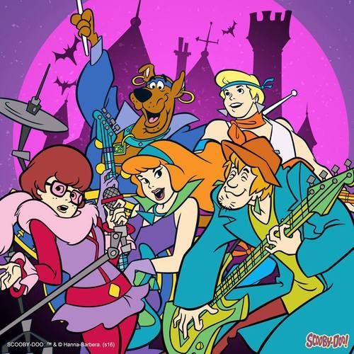 Have a groovy Halloween from Scooby and the Gang! Scooby-Doo, October 2016