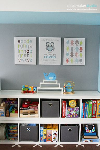 This site has great ideas for kids' parties and rooms. It will come in handy when it's time to redo the boys' rooms.