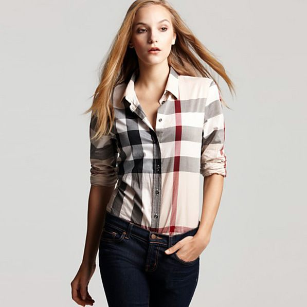 #GirlBoss Burberry shirt