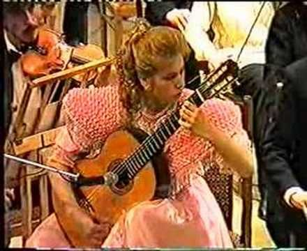 Joaquin Rodrigo Guitar Concierto de Aranjuez played by Galina vale