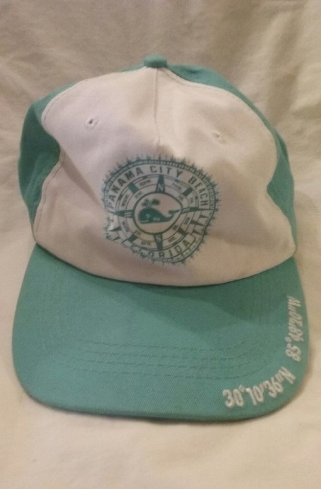 Panama City Beach Florida Coordinates On The Bill One Size Fits All Hook And Loop Closure Ebay