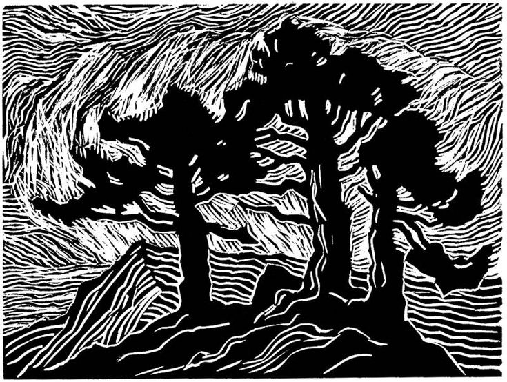 Linoleum Print Designs 14 best lino prints im...