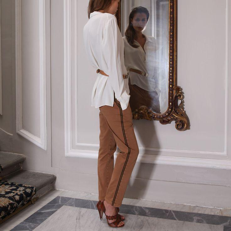 SHIRT FILIPPA SILK REGULAR FIT REGULAR FIT - Masons Collection hiver 2015 _Amalfi Wavre _ www.boutique-amalfi.be