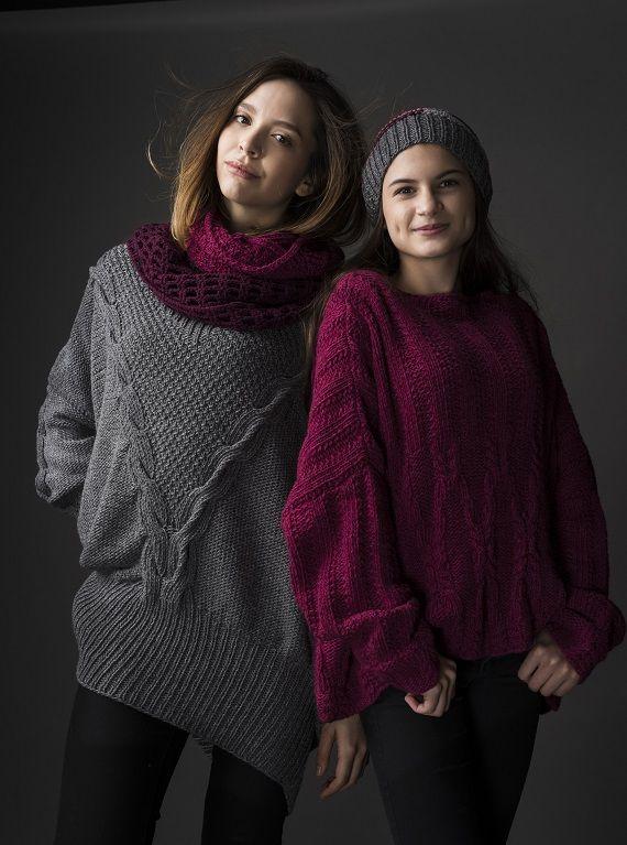 HANIA by Anya Cole Mel Sweater & Barry Sweater Fall/Winter 2015