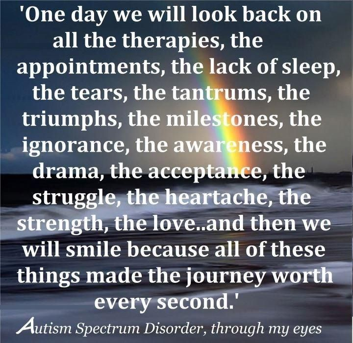 To all Autism Mom's and Dad's