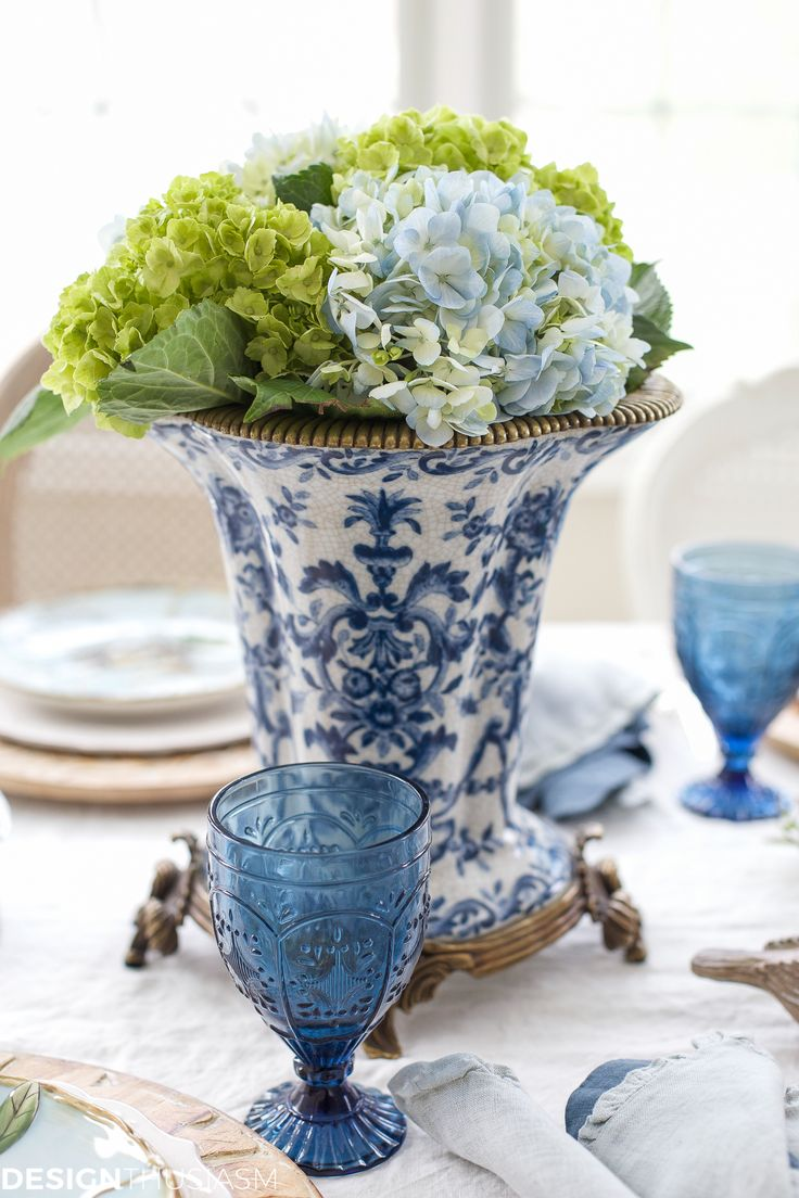345 best beautiful table settings images on pinterest for Elegant easter table decorations